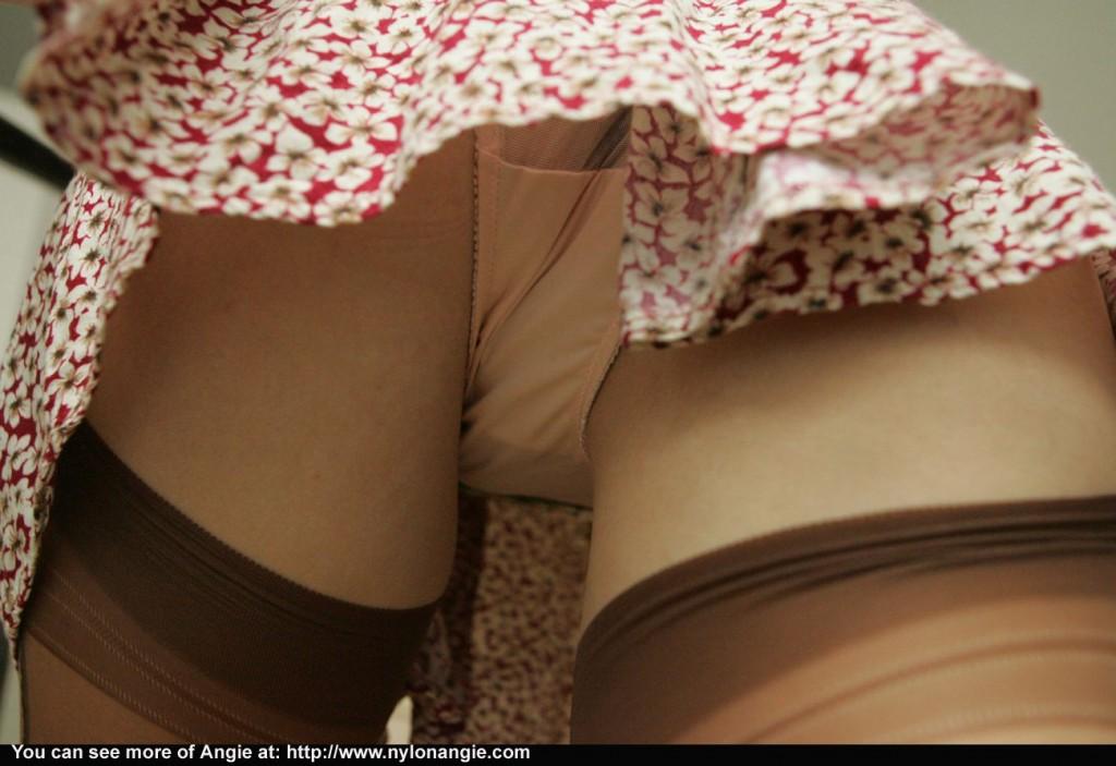 upskirt panties